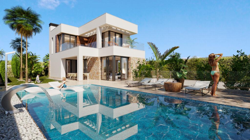 11 Only 3 Bed 3 Bath Villas Finestrat Hills Residencial